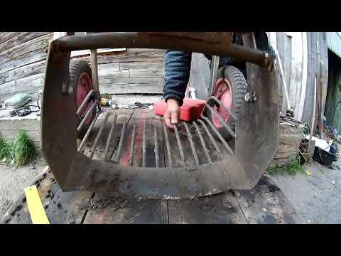 Самодельная картофелекопалка для мотоблока.Размеры.Конкурс от канала.
