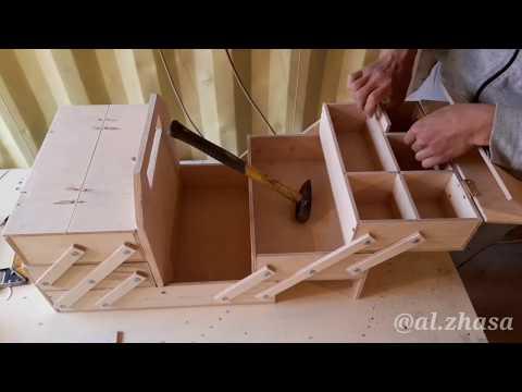 Самодельный ящик для инструментов / How To Make Toolbox