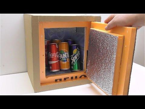 Как сделать мини холодильник своими руками