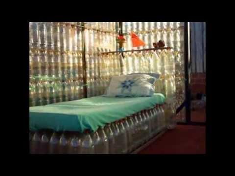 Диваны и кресла - мебель из пластиковых бутылок своими руками. Поделки для дома и дачи