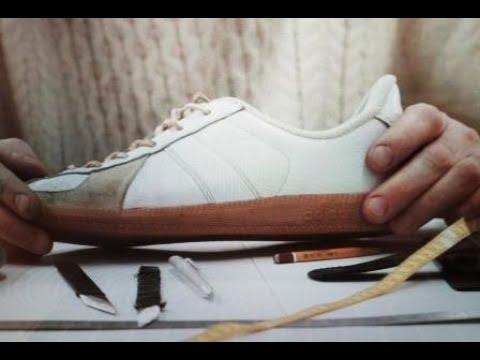 УРОК 1 - КЕДЫ. КОНСТРУИРОВАНИЕ ОБУВИ - МОДЕЛЬ Adidas bundeswehr