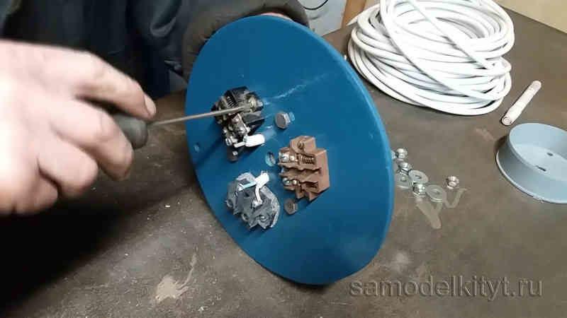 Как сделать удлинитель на катушке