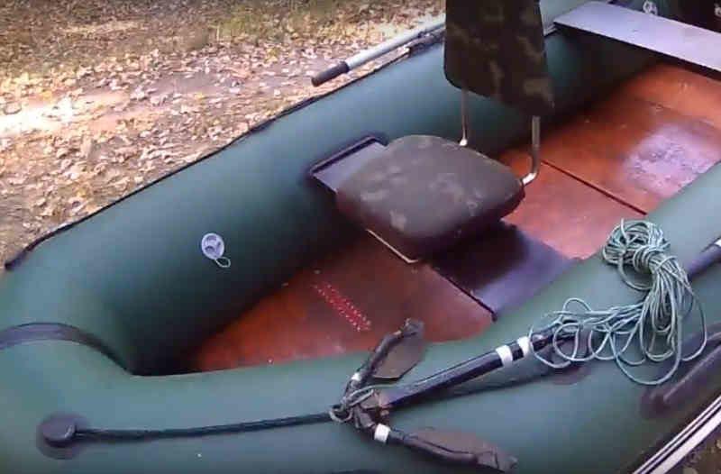 Кресло в лодку пвх своими руками
