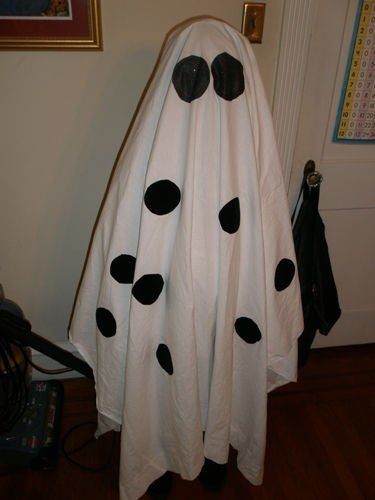 Самодельный костюм призрака