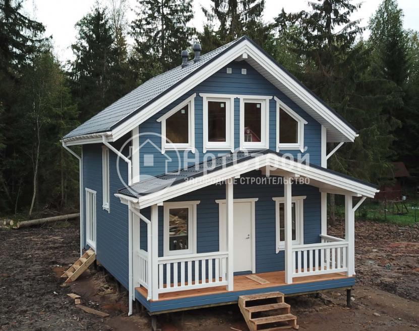 Каркасные дома, преимущества, фото, проекты
