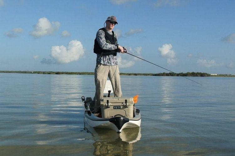 Лодка Stik обеспечивает исключительную устойчивость для рыбалки