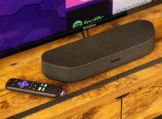 Потоковая передача и звуковая панель в одном устройстве для телевизора