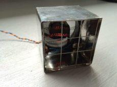 Крошечный электрический обогреватель мощностью 80 Вт