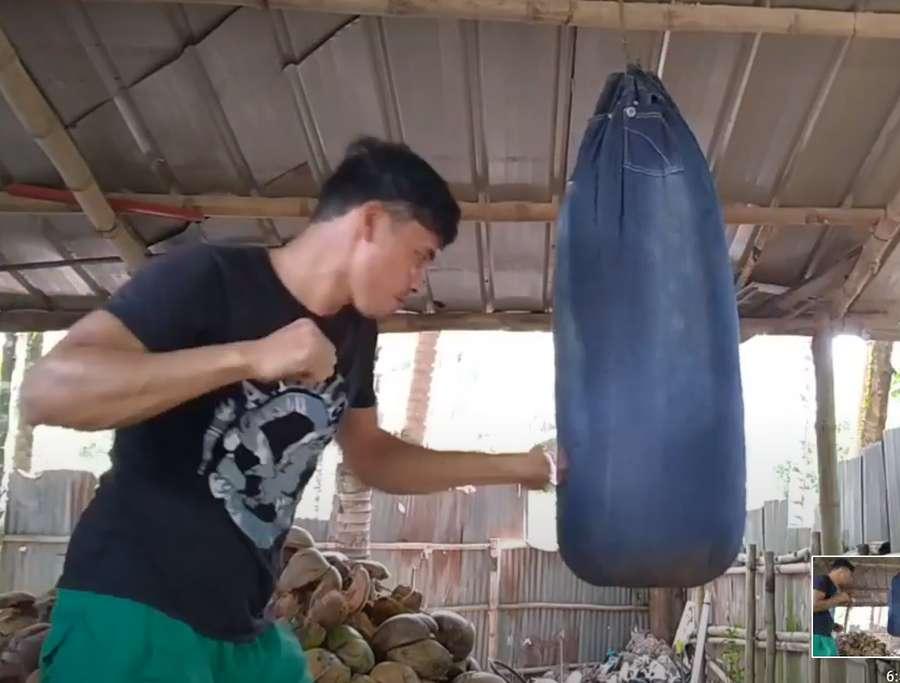 Несколько примеров самодельных боксерских груш