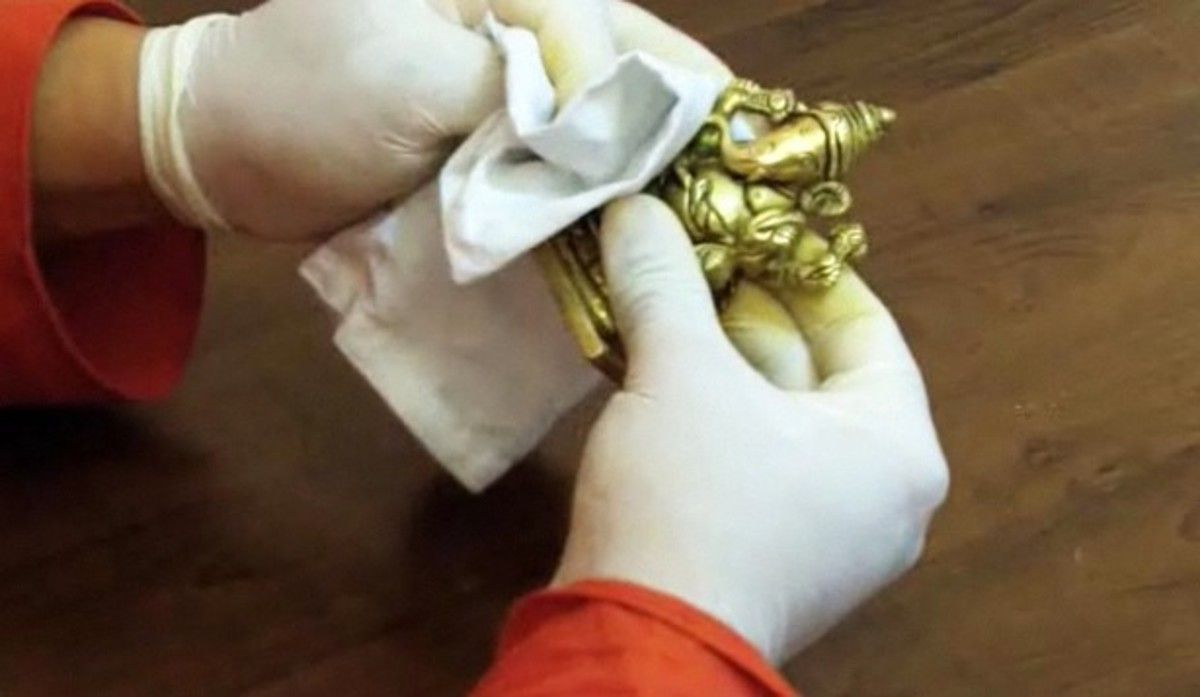 Как очистить латунь