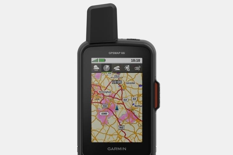 GPS-навигатор и спутниковый коммуникатор в одном корпусе