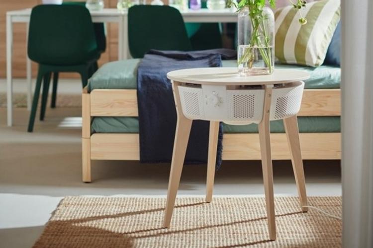 Очиститель воздуха интегрированный в столик